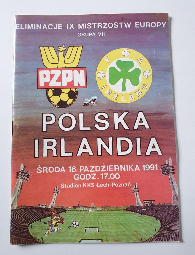 PROGRAM POLSKA - IRLANDIA 1991