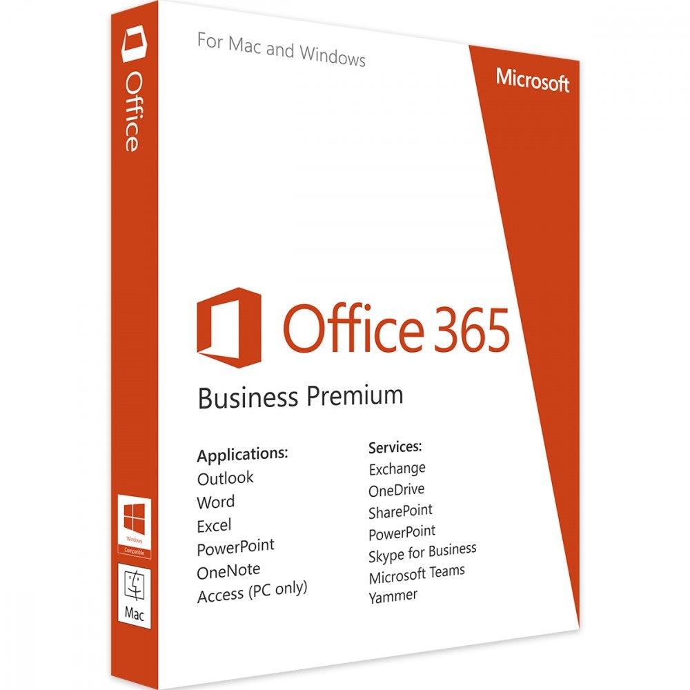 Office 365 Business Premium PL Box P4 Win/Mac KLQ-