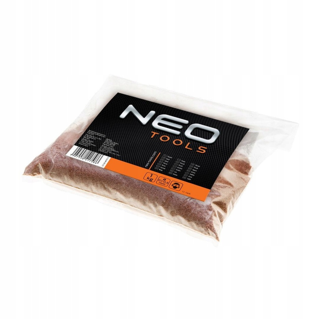 Piasek mineralny do piaskowania 10 kg NEO 12-564