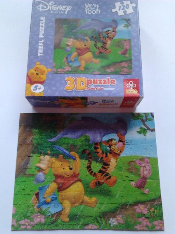 Trefl puzzle 3D Kubus Puchatek