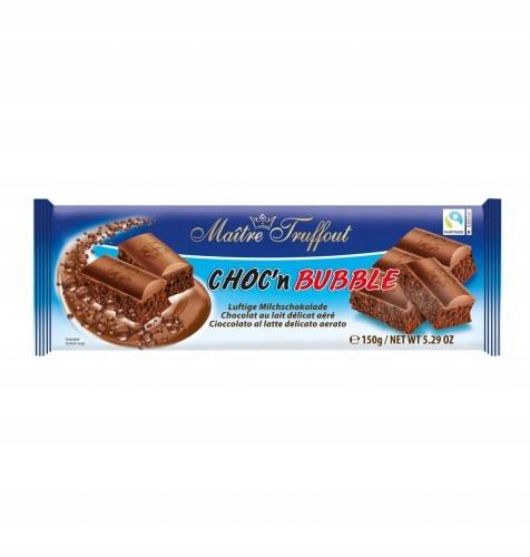 Choc'n Bubble Bąbelkowa czekolada mleczna 150 g