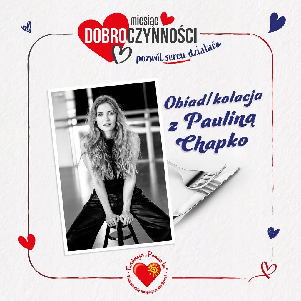 Obiad Kolacja Z Paulina Chapko 9895749193 Oficjalne Archiwum Allegro
