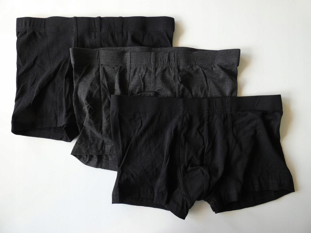 BOKSERKI majtki H&M 40 L 3-pak