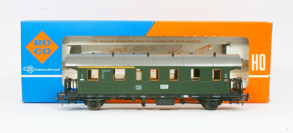Roco. Wagon osobowy I / II klasa DB III ep.