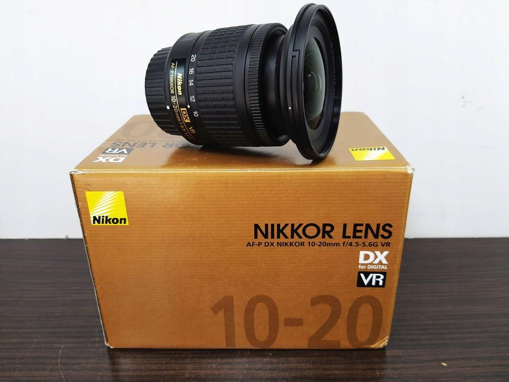 Obiektyw Nikon Nikkor10-20mm AF-P DX f/4.5-5.6G VR