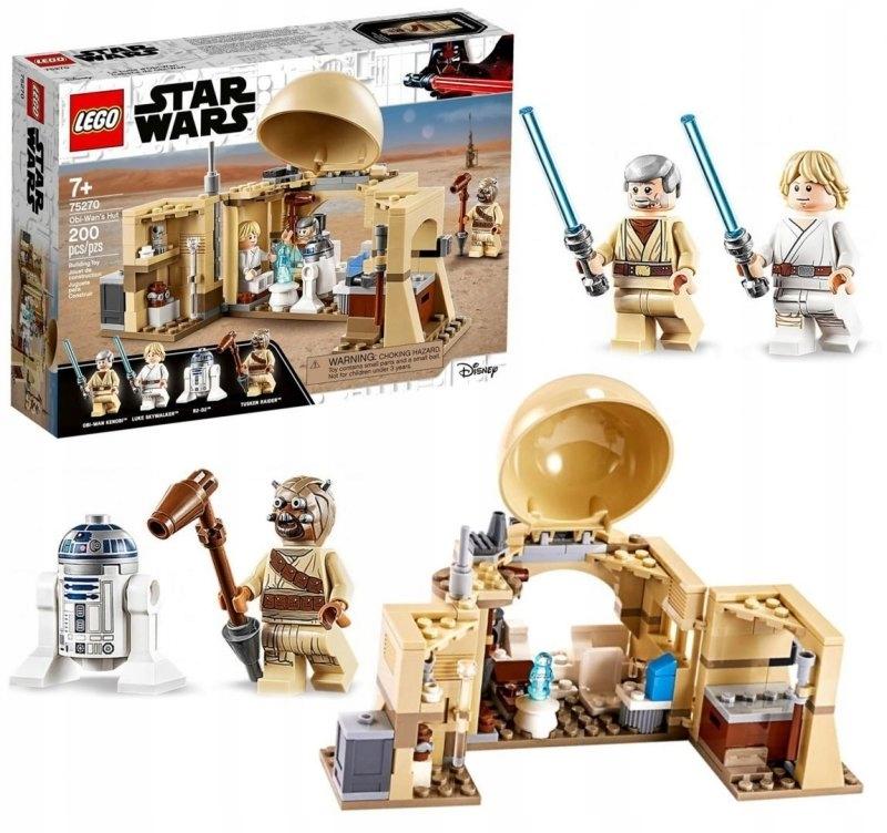 Klocki Lego Star Wars Chatka Obi-wana 75270 TM