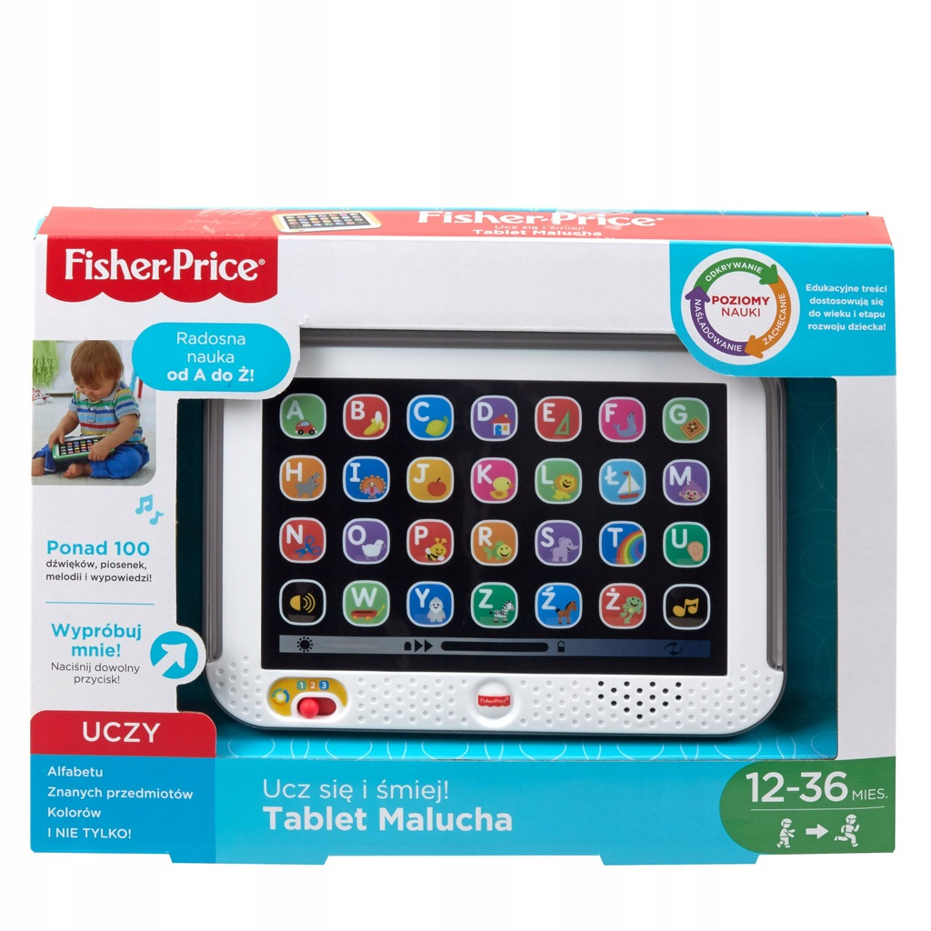 Fisher Price DHN29 Zabawka Tablet Malucha