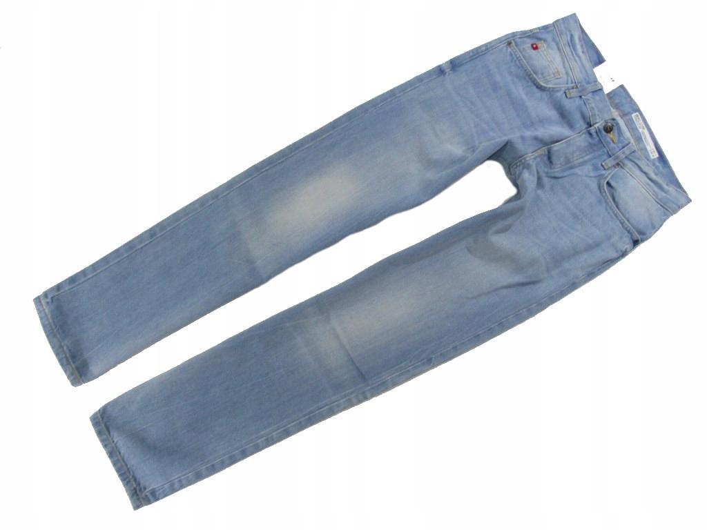 BIG STAR DYLAN Spodnie Proste Męskie Jeans_ 3032