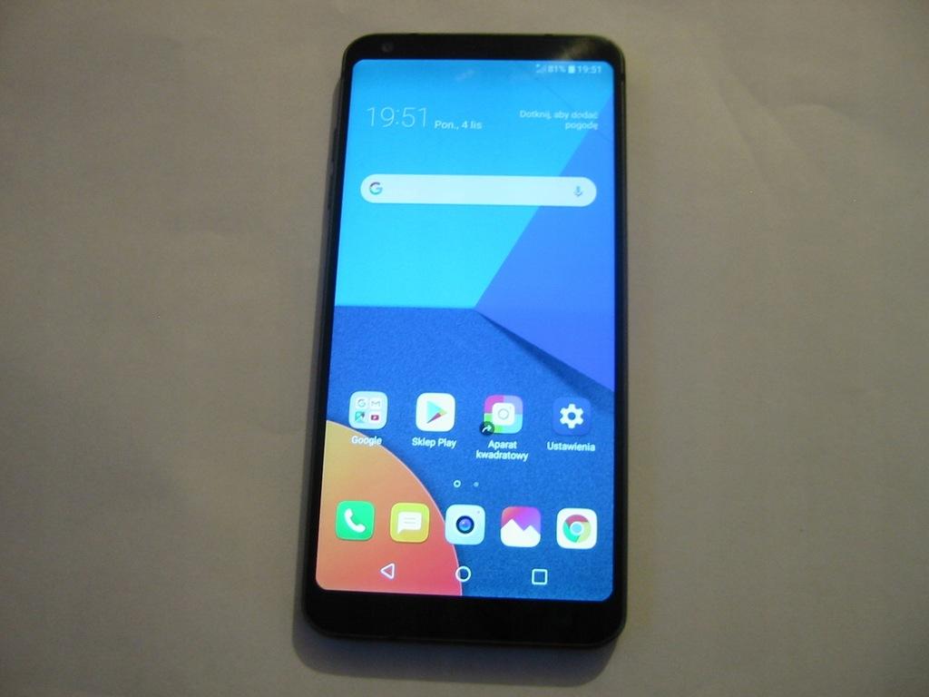 LG G6 H870 wyświetlacz LCD dotyk ramka przyciski