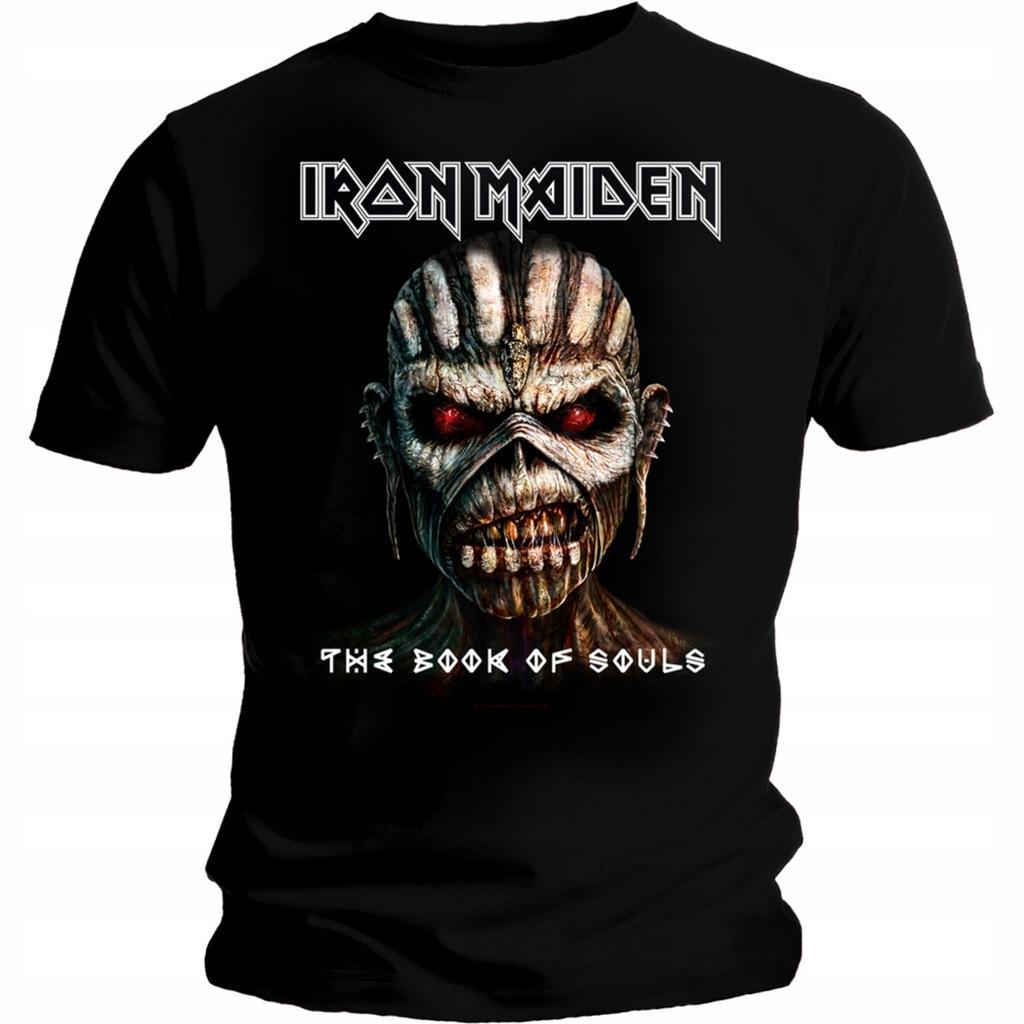 Iron Maiden Book of Souls podkoszulek