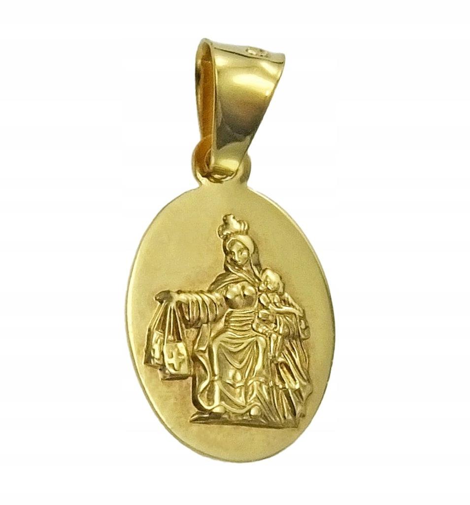 Złoty Medalik Szkaplerz - Próba 585