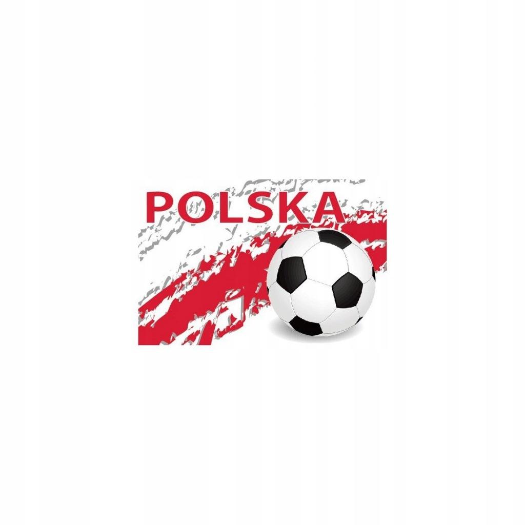 Naklejka Magnetyczna 30X20Cm Polska Piłka