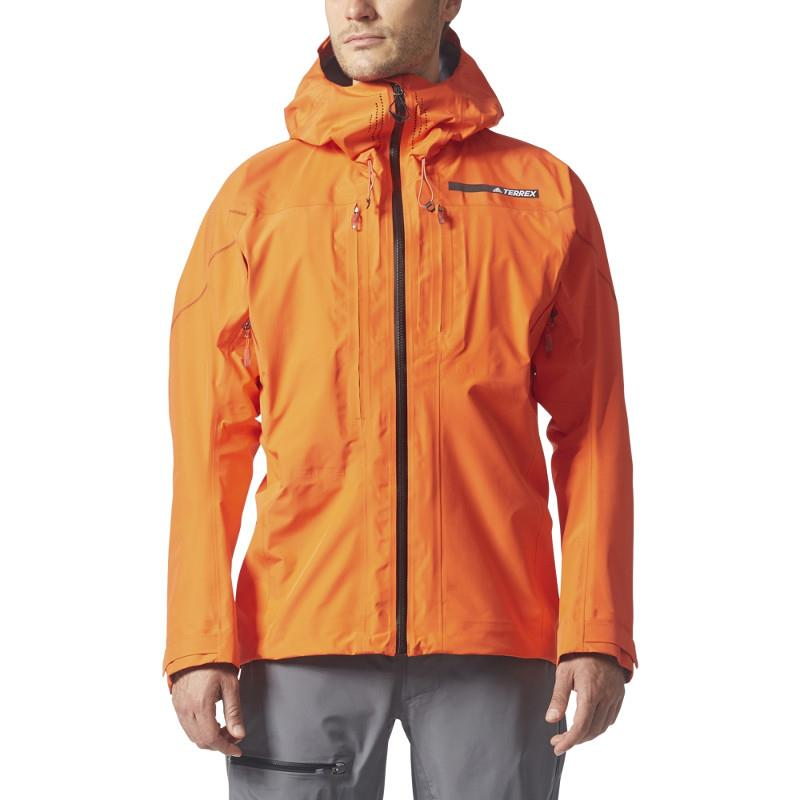 ADIDAS Men's Terrex TechRock GTX Hooded Jacket