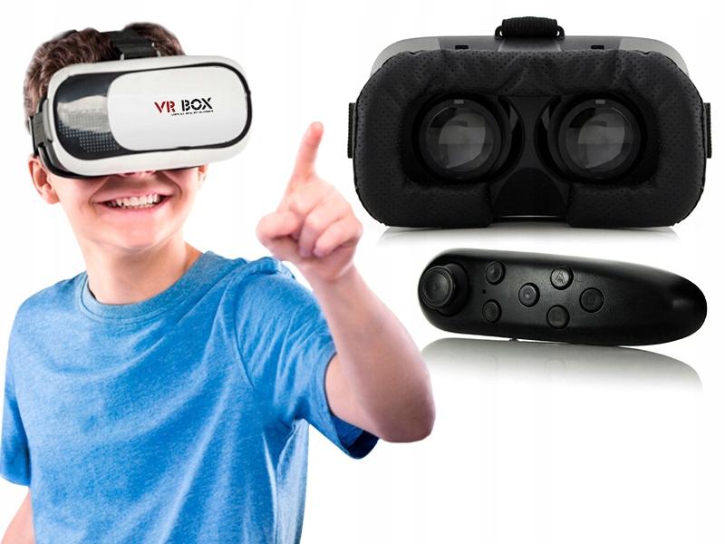 OKULARY VR GOOGLE 3D DLA DZIECI DO GIER FILMÓW