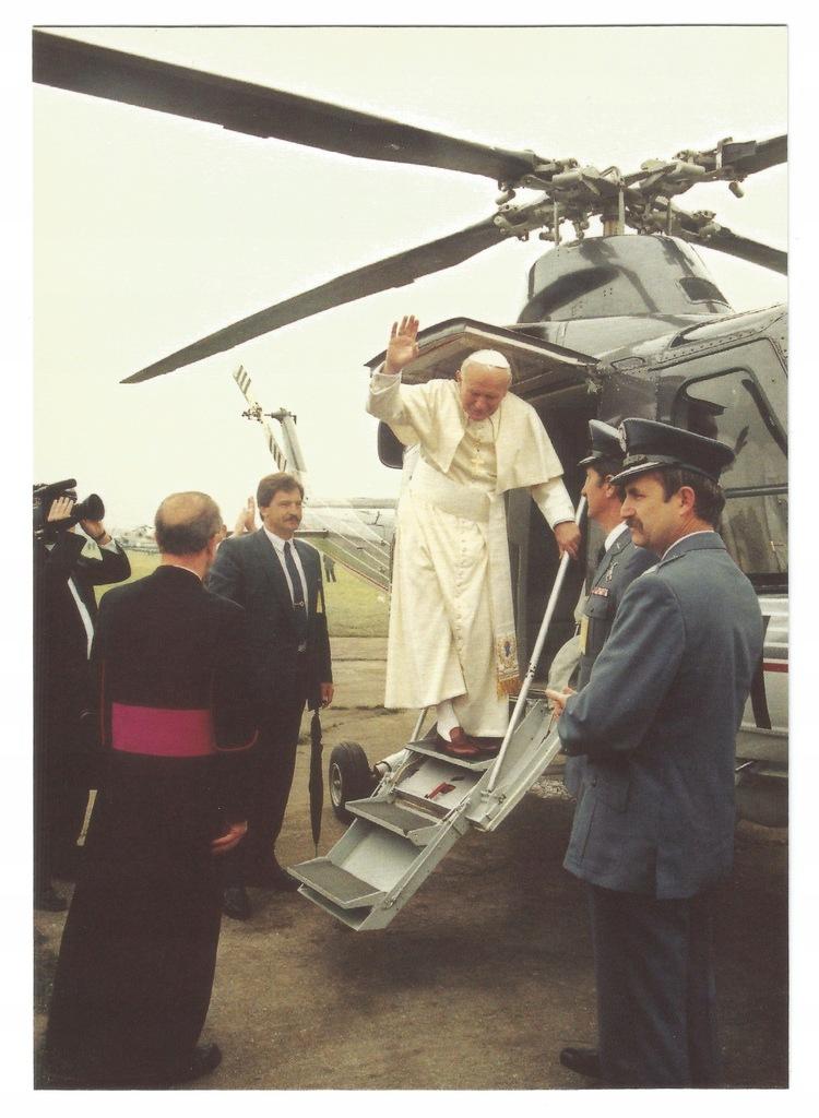 Płock. Wizyta Jana Pawła II 1991r. Pożegnanie