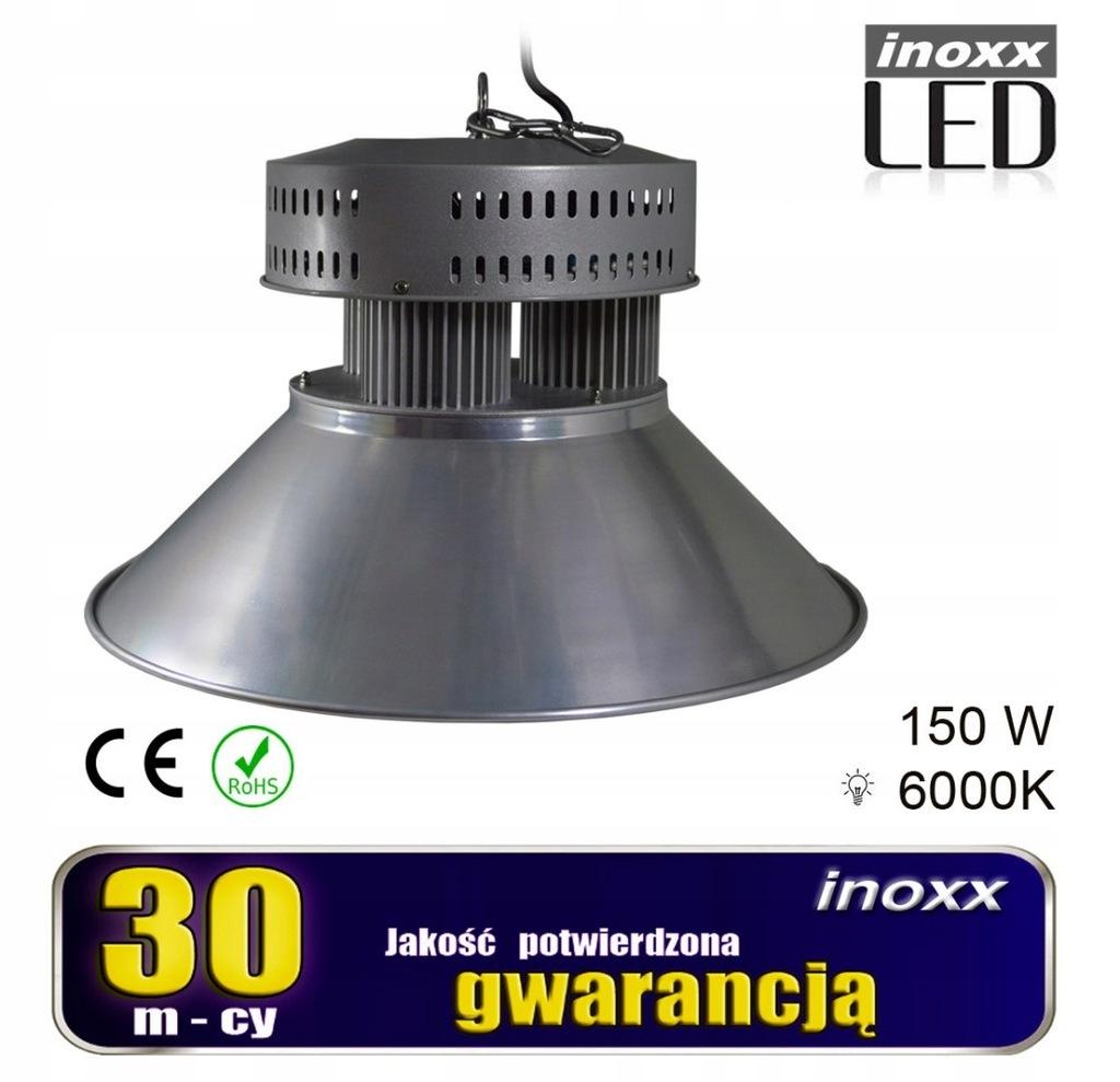 Lampa przemysłowa led 150w high bay cob 6000k zimn