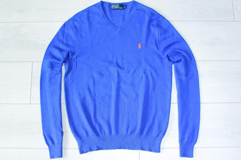 POLO by RALPH LAUREN _ PONY PATCH _ SWETER _ L