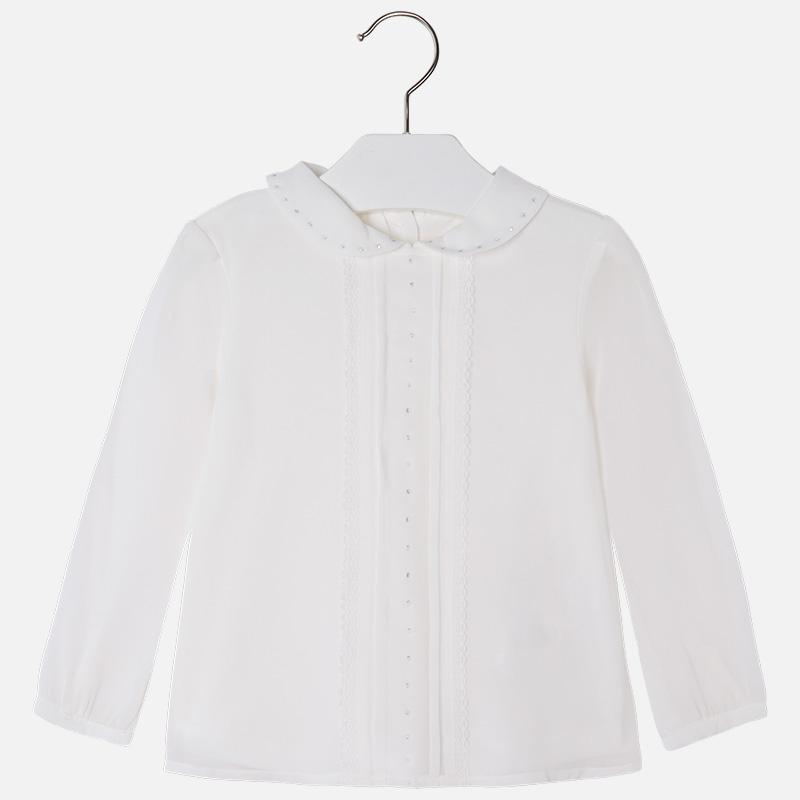Elegancka bluzka Dziewczęca 4123 Mayoral 116cm.