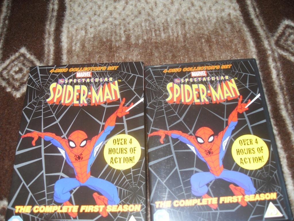 The Spectacular Spider-Man | sezon 1 | 4 x DVD