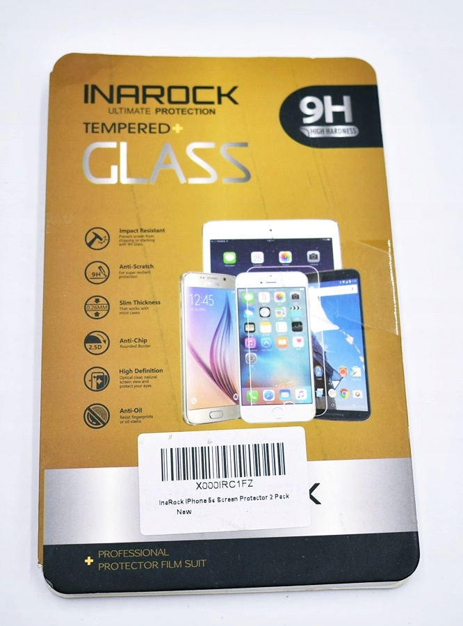4595-36 ..INAROCK IPHONE 5S... k#o SZKLO HARTOWANE