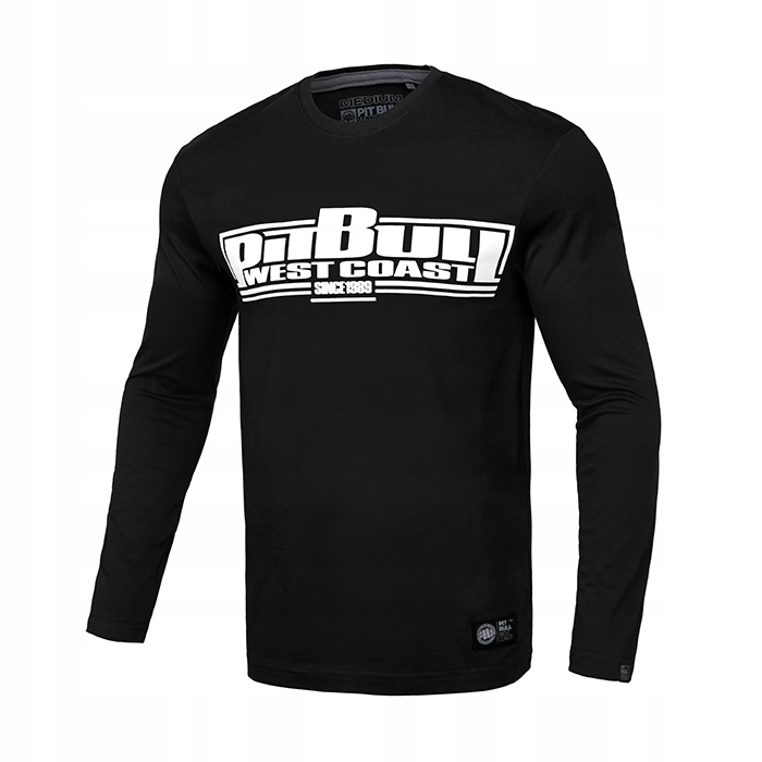 Koszulka z dł. ręk. Pit Bull Classic Boxing BLK XL