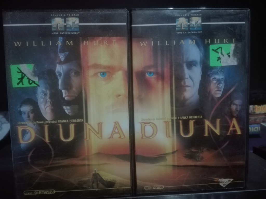 Diuna cz.1 i cz.2 - VHS
