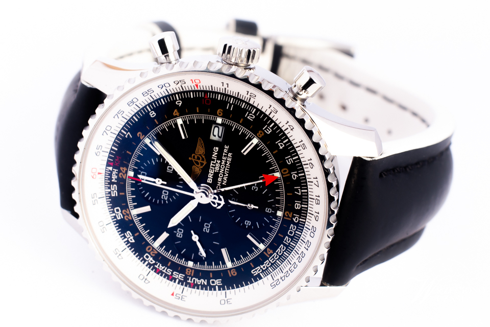 BREITLING NAVITIMER WORLD A24322 COSC 46MM/BOX