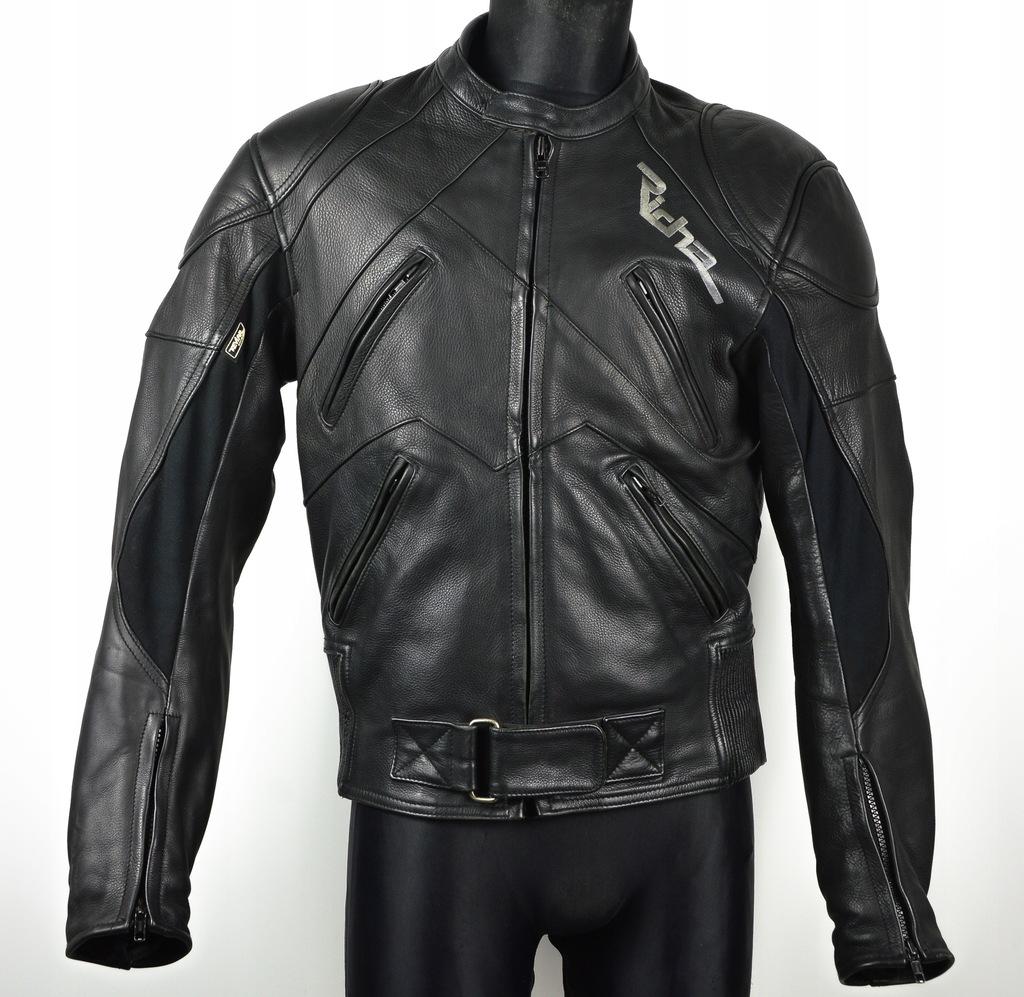 RICHA DAYTONA kurtka skórzana motocyklowa 52 black