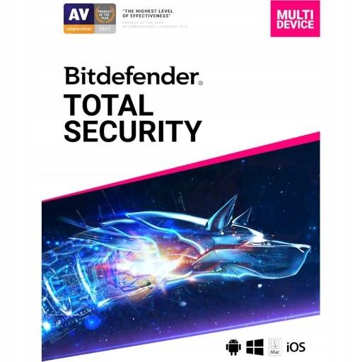 Bitdefender Total Security 2020 5 PC 90 DNI KLUCZ
