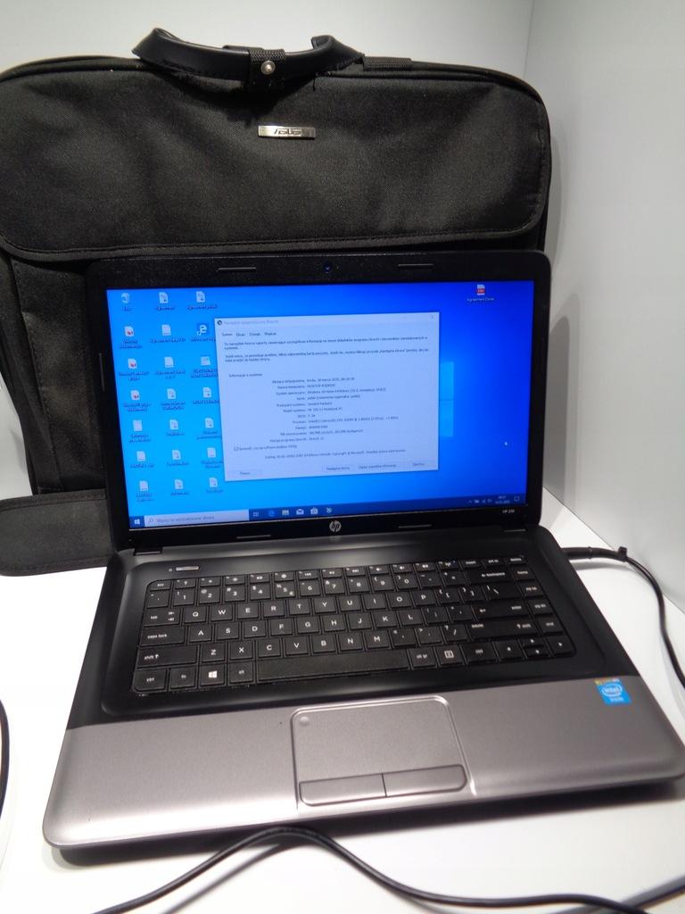 Notebook HP250 G1 Celeron 4GB RAM - 500GB