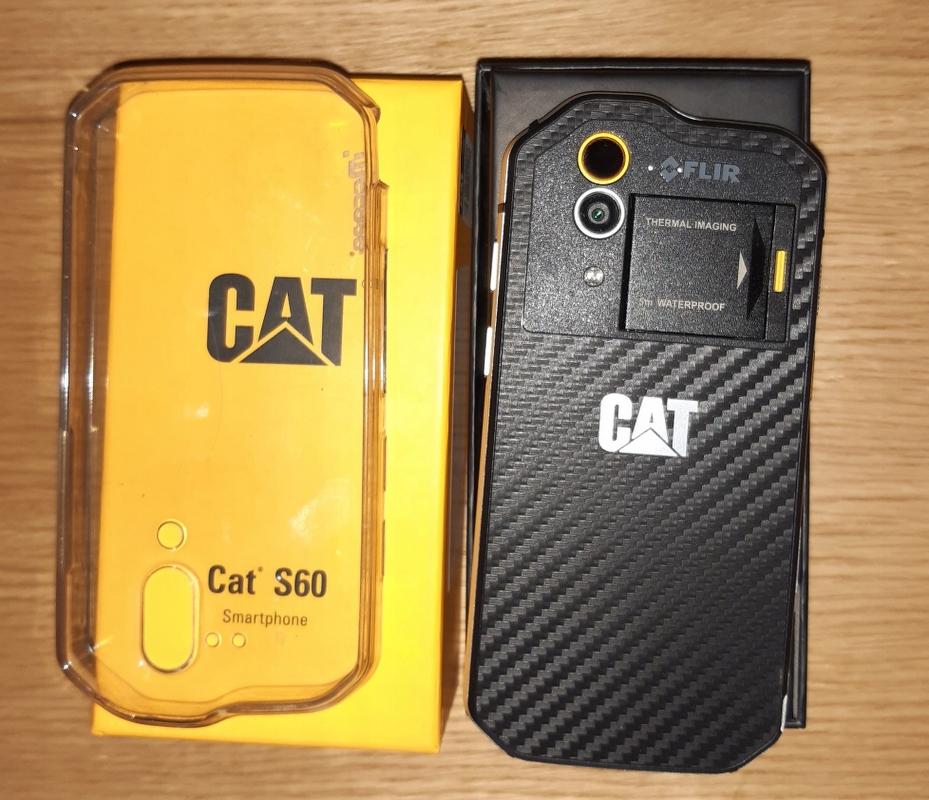 Smartfon Cat S60 czarny, kamera termowizyjna, BCM!