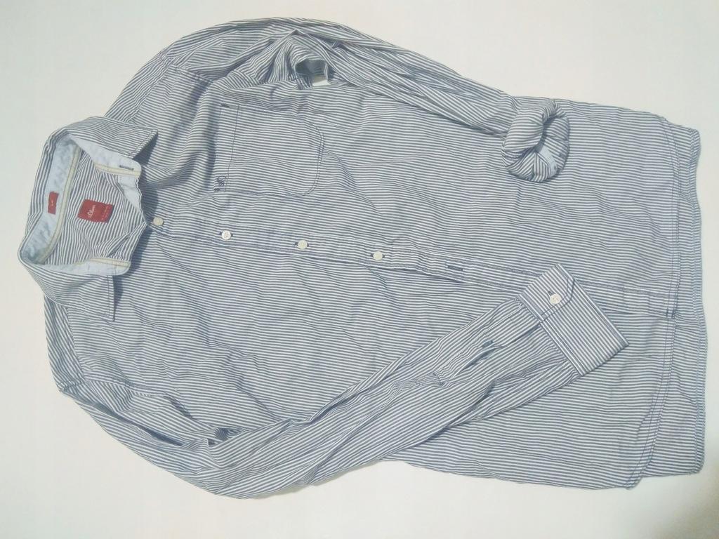 S.oliver koszula paski slim L