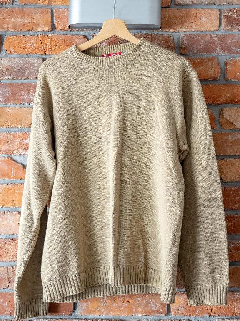 Sweter Big Star kolor piaskowy/beżowy roz. L