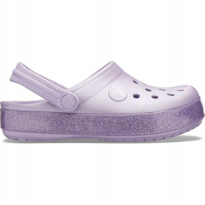 Buty Crocs Crocband Glitter Clog Jr 205936 530
