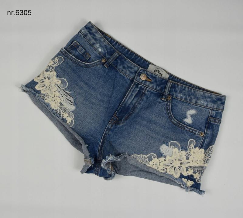 Szorty L 40 new look koronka jeans nr 6305