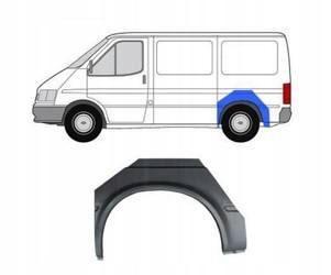 Reperaturka błotnika tył Ford Transit 1991-94 Lewa