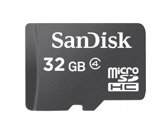 Karta pamięci SanDisk microSDHC 32GB SDHC C4