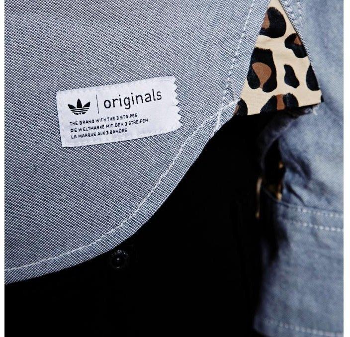 Koszula męska Adidas Originals G69001 Elegancka XL  HnUbt