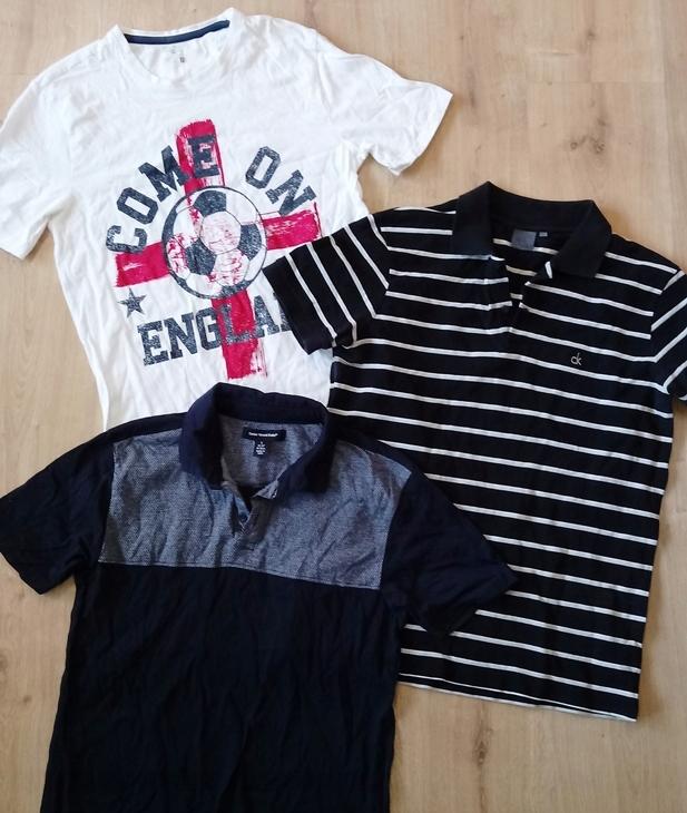 Calvin Klein Cedarwood F&F komplet koszulek S
