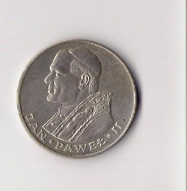 Moneta Z Papiezem Jan Pawel Ii 7172939830 Oficjalne Archiwum Allegro