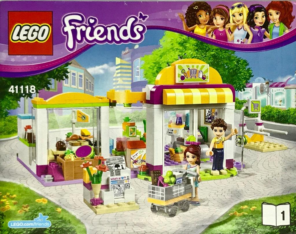 Lego Friends 41118 Sklep Supermarket w Heartlake