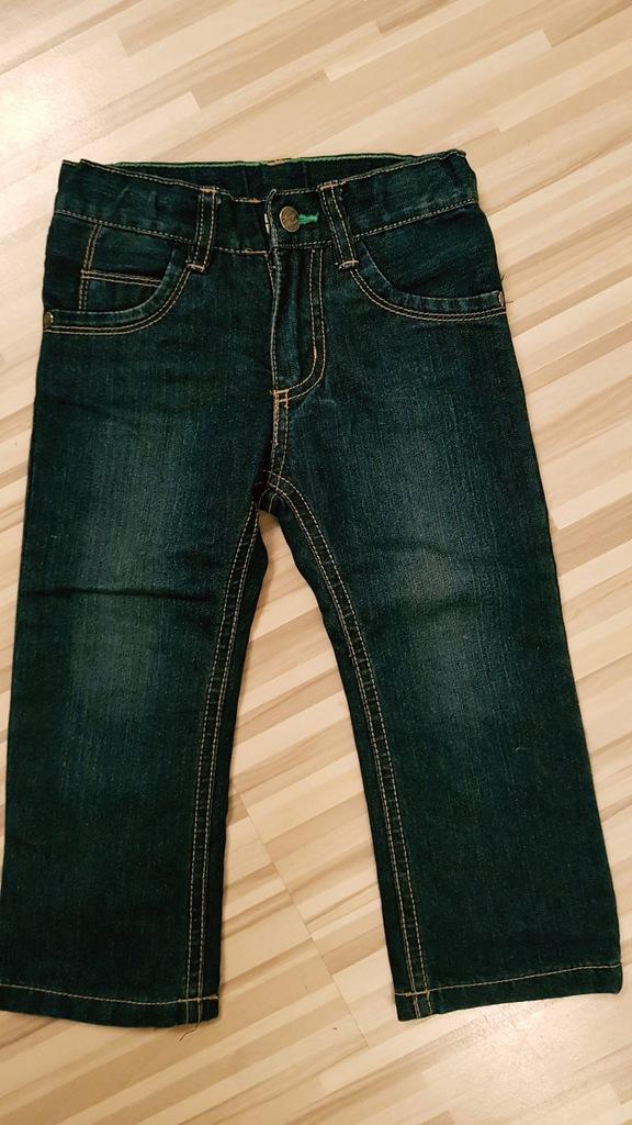 Lupilu spodnie roz. 92, jeans