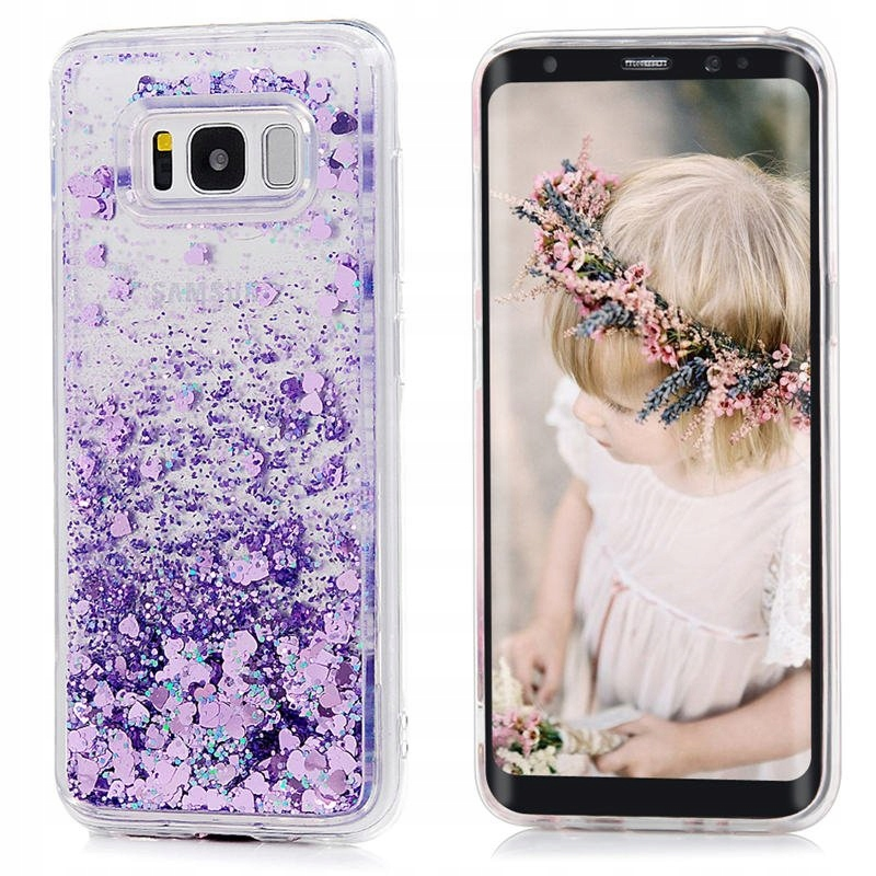 Etui Case Płynny Brokat Huawei Y7 Prime 2017