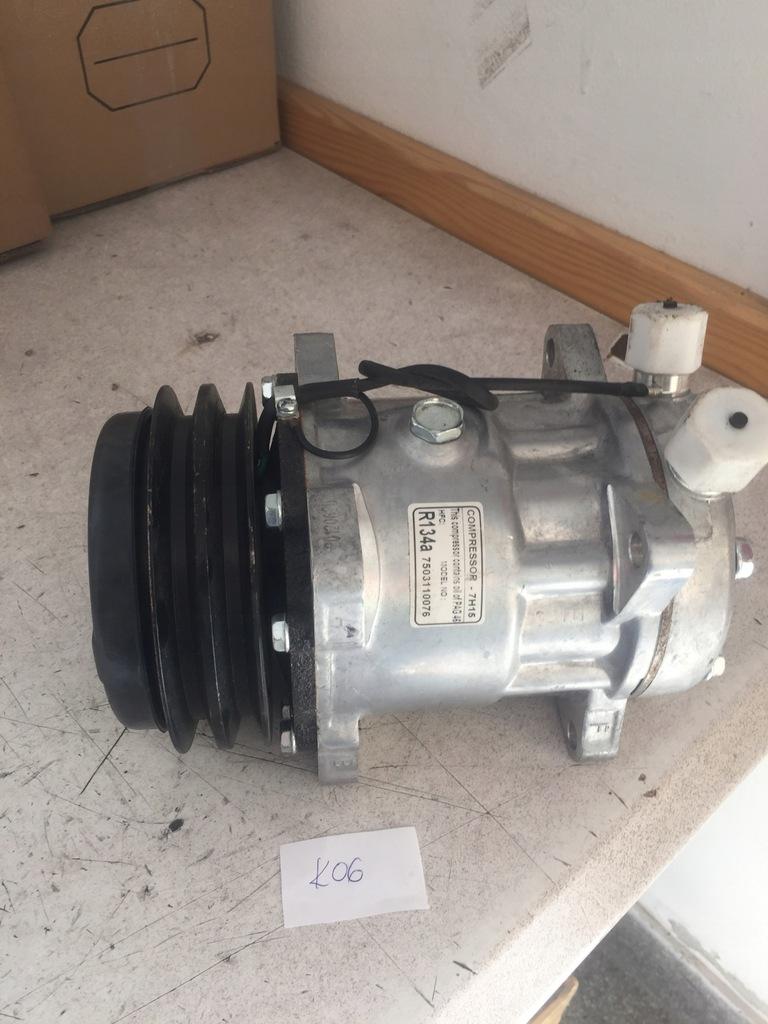 Kompresor klimatyzacji do maszyn rolniczych 7H15