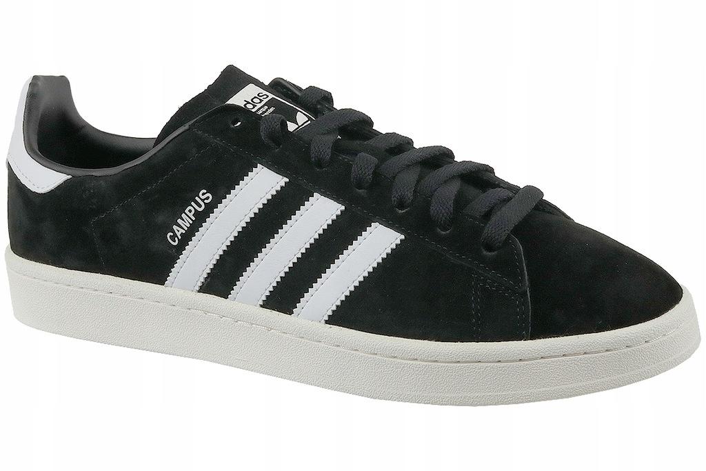 Adidas Buty m?skie Campus czarne r. 47 13 (BZ0084)