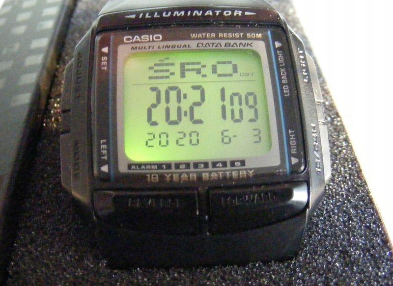 Oryginalny zegarek Casio DB-36-1 z opakowaniem