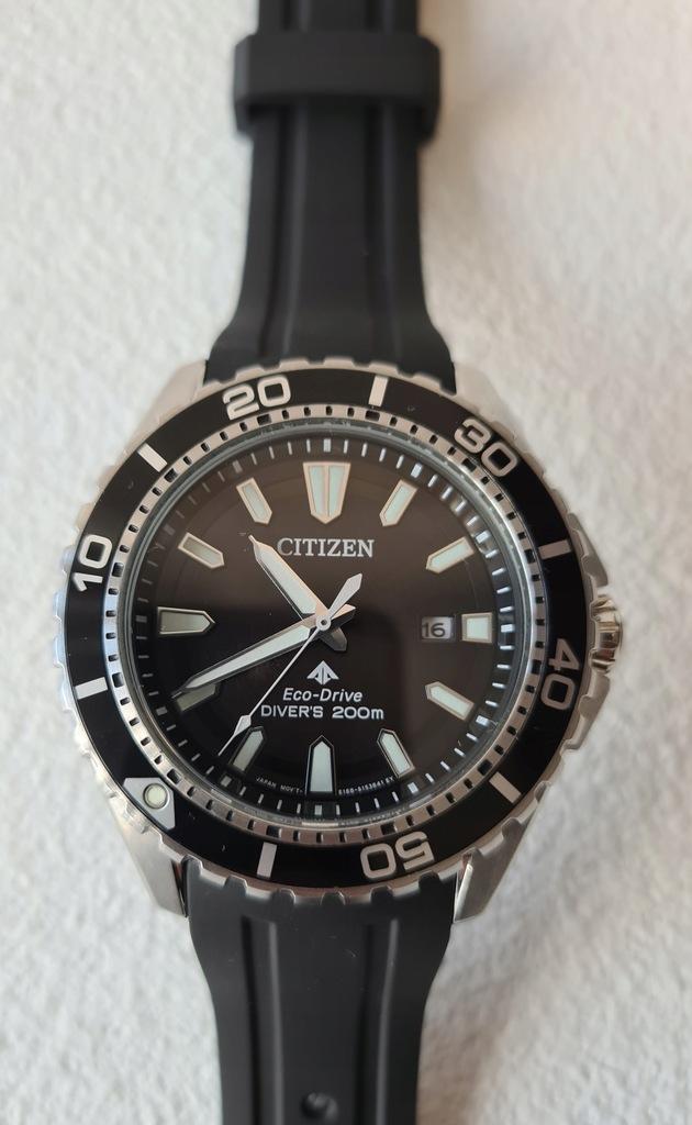 Zegarek Citizen diver Eco-drive