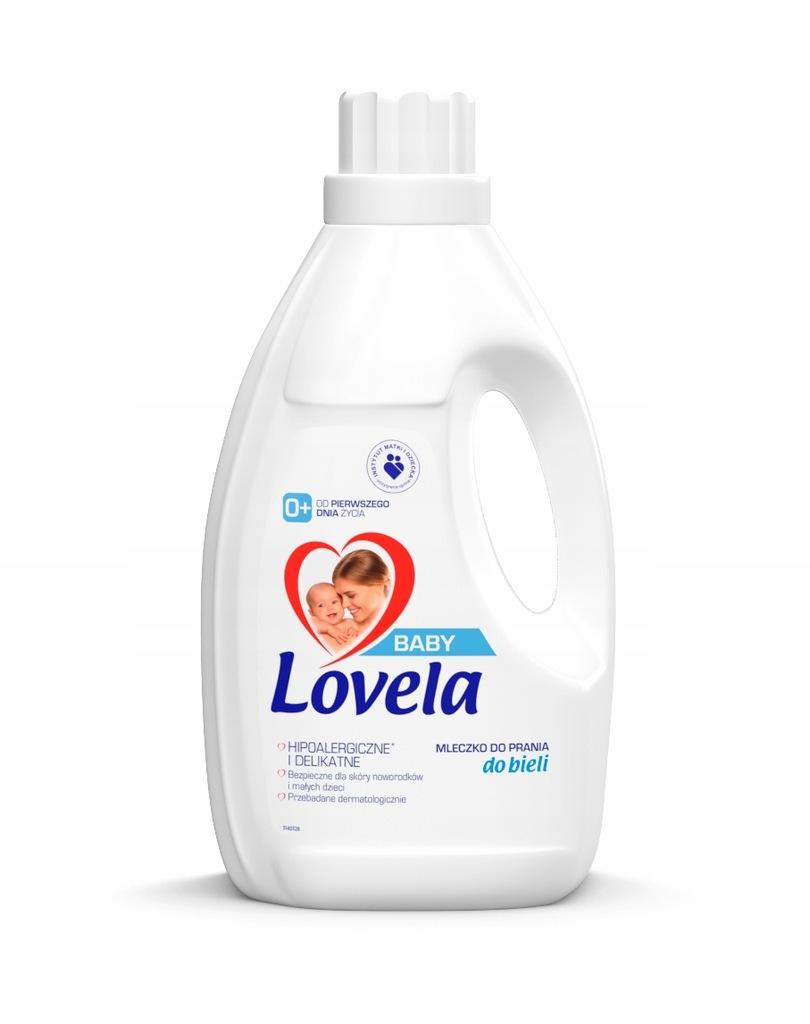 Lovela mleczko baby 1,45l do prania do białego