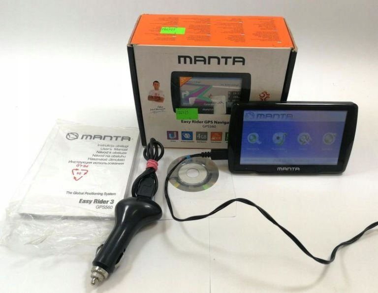 NAWIGACJA MANTA GPS560