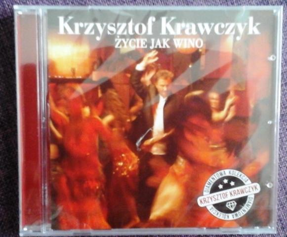 """Krzysztof Krawczyk """"Życie jak wino"""" - płyta nowa!"""